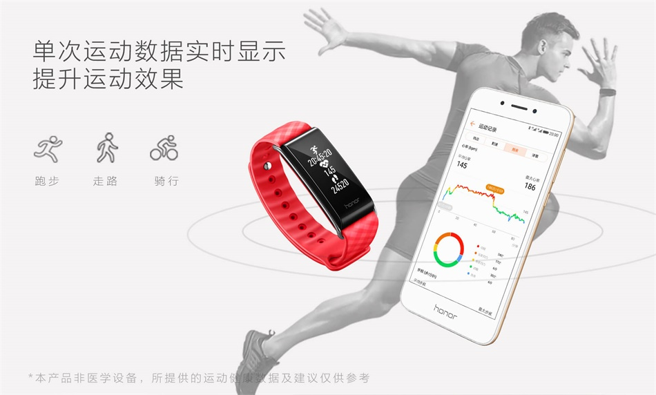 Huawei honor band A2-heart1111