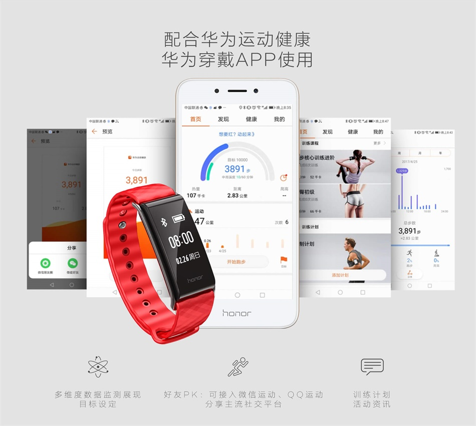 Huawei honor band A2-heart21212212