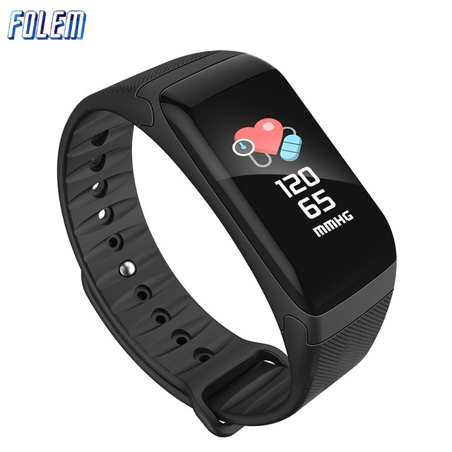 F601-F1-Plus-Heart-Rate-Monitor-Waterproof-IP67-Bluetooth-Smart-Bracelet-Blood-Pressure-Measure