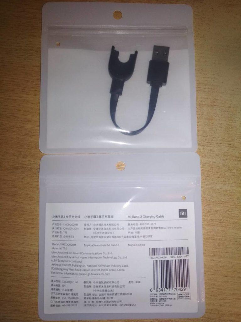 Купить фирминую зарядку для Mi band 3 usb кабель