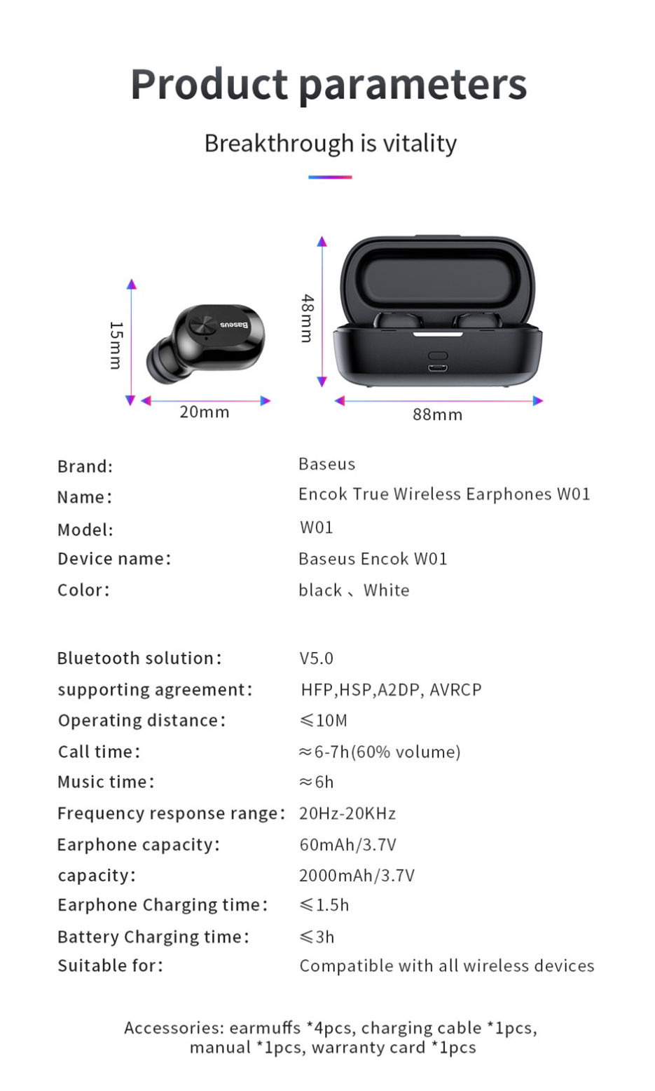 купити Baseus W01 в україні