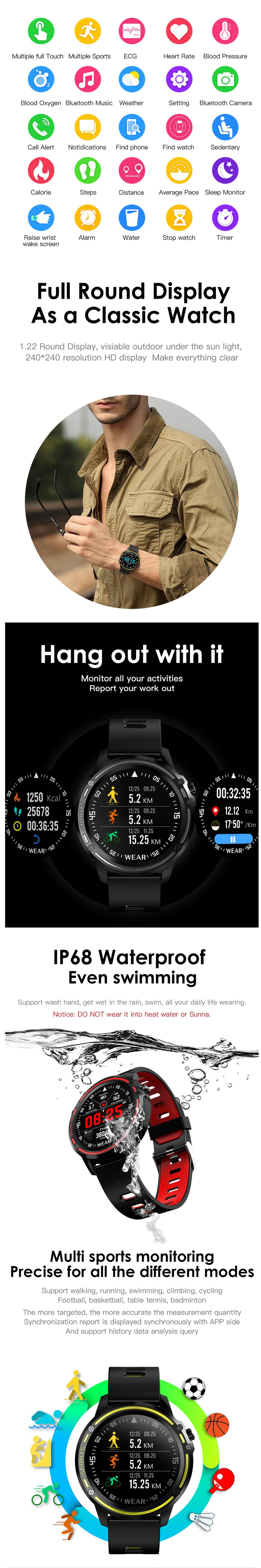 L8 Смарт часы купить в украине