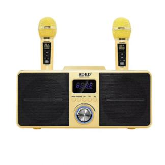 беспроводной микрофон SD 309, Bluetooth колонка, мобильная Беспроводная колонка, караоке