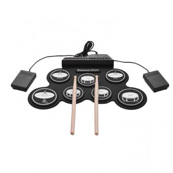 Электронные барабаны, гибкая установка с педалями G3002
