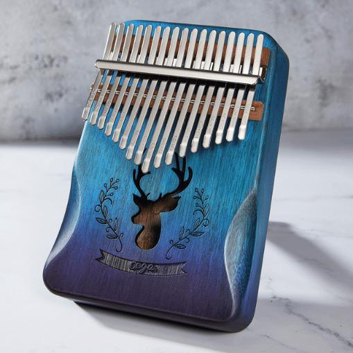 купить kalimba 17 клавишное пианино из красного дерева mbira музыкальный инструмент