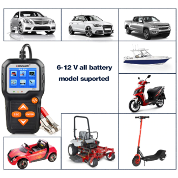 KONNWEI KW650 автомобильный тестер аккумуляторный купить