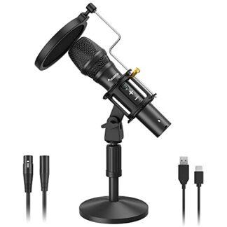микрофон динамический maono HD300t